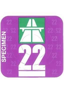 Vignette (motorways CH) 2020