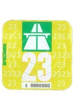 Autobahnvignette 2020