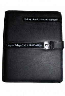 History-book A4, black, imitation leat..