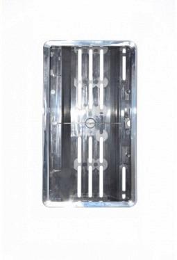 SwissClick license-plate holder chrome