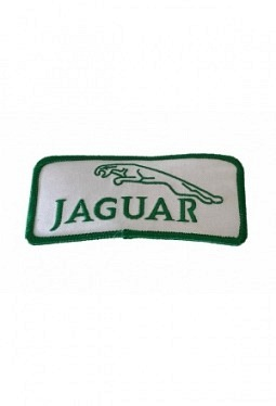 Leaper cloth badge green / white