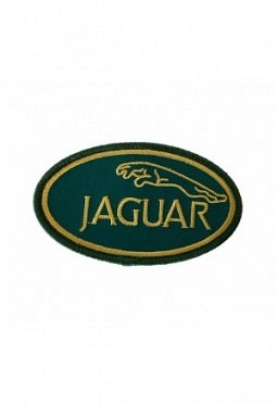 Leaper cloth badge green / gold