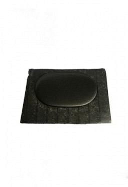 Plenum cover finisher cap