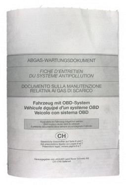 Emissions document OBD                ..