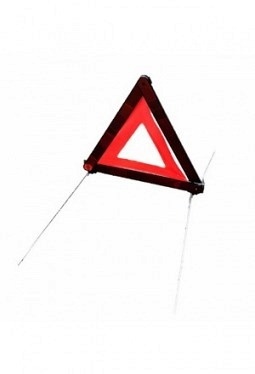 Warning sign red